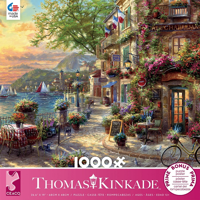 French Riviera Cafe Puzzle