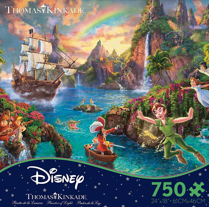 Peter Pan's Never Land Puzzle