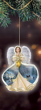 Home for the Holidays Angel Ornament