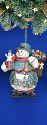 Gifts of Good Cheer Snowman Ornament