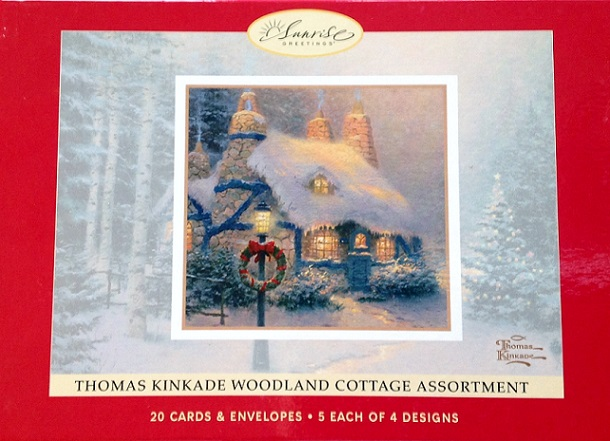 Woodland Cottages Christmas Cards