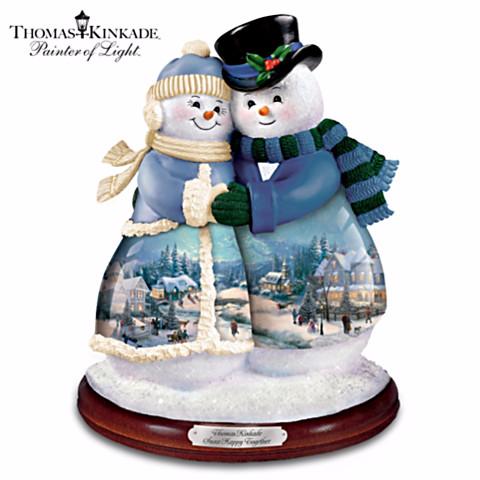 Snow Happy Together Snow Couple