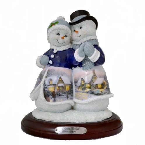 Snow Joyful Snow Couple