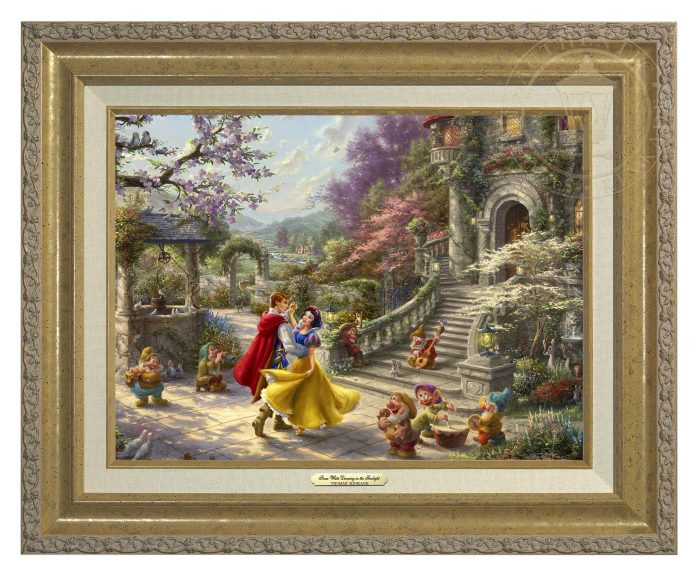 Snow White Dancing in the Sunlight Classic (Frame Choices)