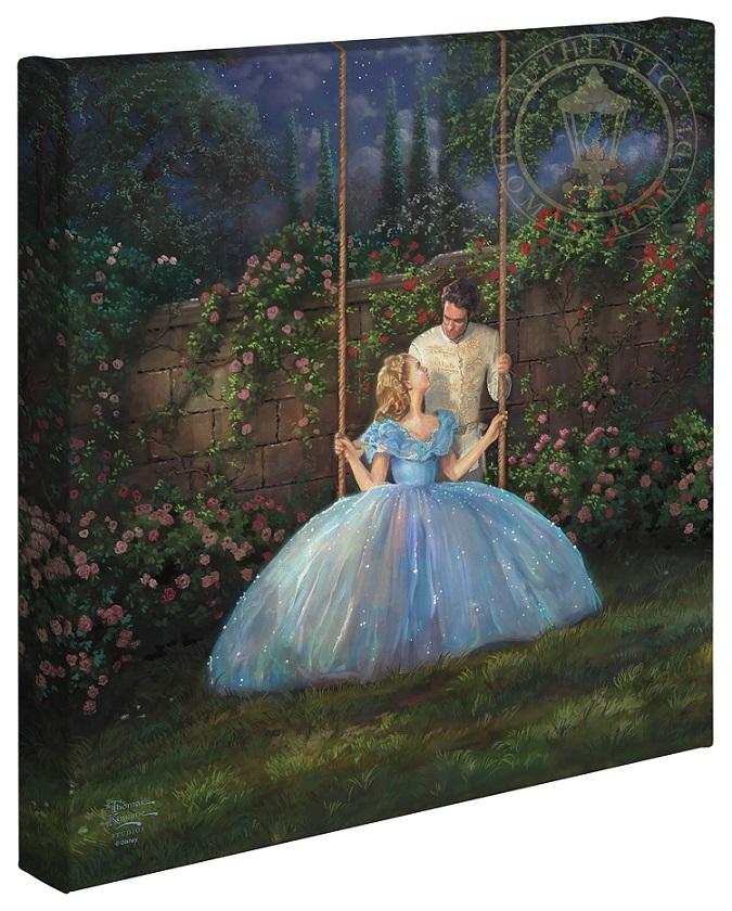 Dreams Come True Cinderella Canvas Wrap