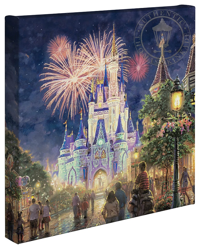 Main Street, U.S.A. Walt Disney World Resort Canvas Wrap