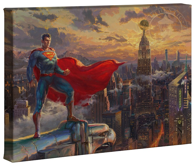 Superman - Protector of Metropolis Canvas Wrap