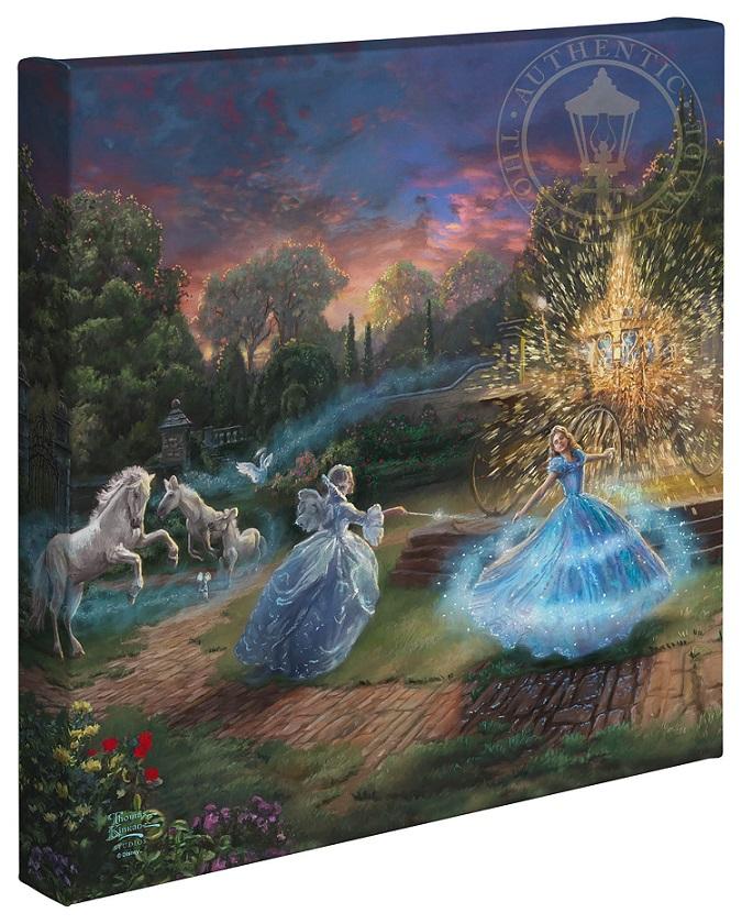 Wishes Granted Cinderella Canvas Wrap