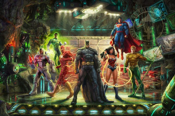 The Justice League Painting