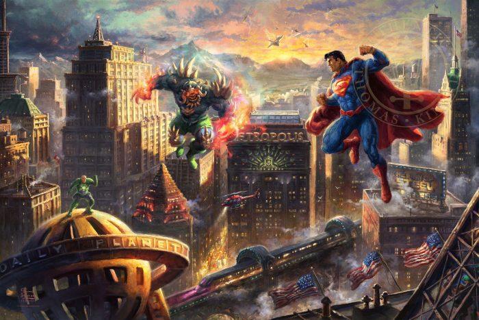 Superman Man of Steel Painting