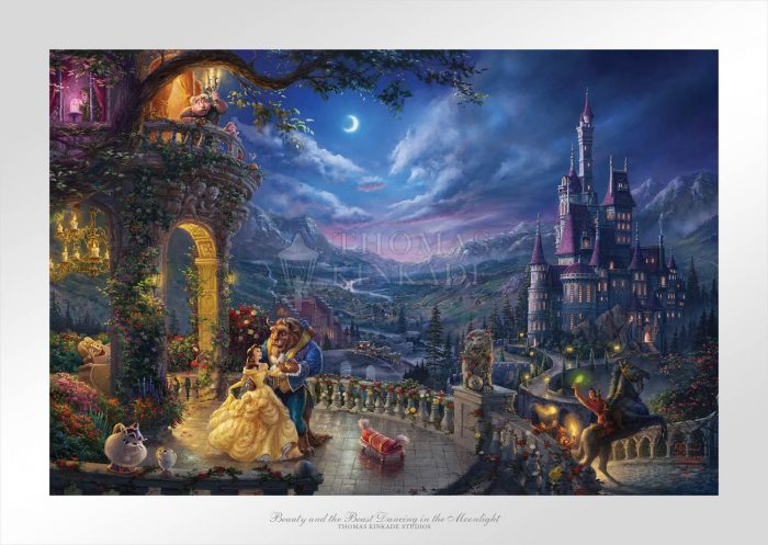 Beauty and the Beast Dancing in the Moonlight Paper Edition