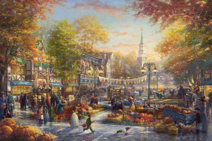 The Pumpkin Festival Painting