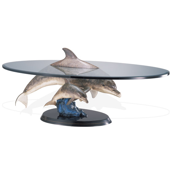 Above and Below Dolphins Coffee Table