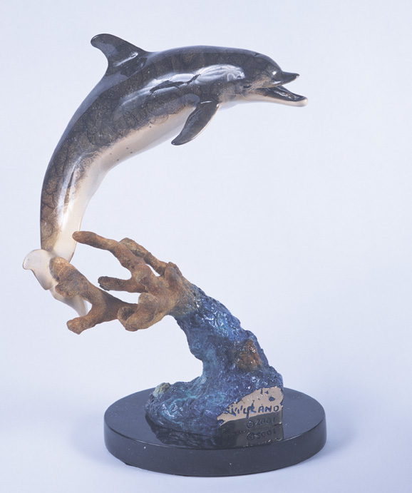 Dolphin Time Sculpture