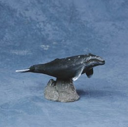 Loyal Gray Whale Figurine