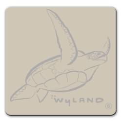 Sea Turtle Pin Silver