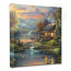 Nature's Paradise Canvas Wrap