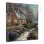 Twilight Cottage Canvas Wrap