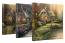 Cottage Canvas Wraps - Set of 3