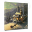 Sunday Evening Sleigh Ride Canvas Wrap