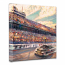 This is Talladega Canvas Wrap