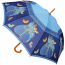 Indigo Cats Stick Umbrella