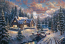 High Country Christmas Painting