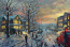 A Christmas Story Painting