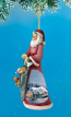 Toy Maker Santa Ornament