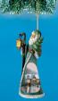 Holiday Spirit Santa Ornament