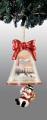 Make a Joyful Noise Snowman Bell Ornament
