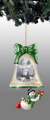 Christmas in the Air Snowman Bell Ornament