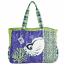 Aquatic Nautlius Shell Oversized Bag