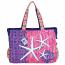 Aquatic Starfish Oversized Bag