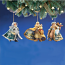 Old World Santa Ornament Set 3