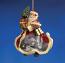 Festive Christmas Santa Ornament