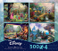 Disney 4 in 1 Puzzle Collection 4