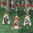 Ring in the Season Porcelain Bell Ornament Set 1
