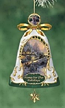 Home for the Holidays Porcelain Bell Ornament