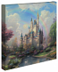 A New Day at The Cinderella Castle Canvas Wrap