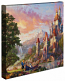 Beauty and the Beast II Canvas Wrap