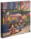 Mickey and Minnie Sweetheart Cafe Canvas Wrap