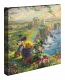 Mickey and Minnie In Ireland Canvas Wrap