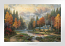 Evening at Autumn Lake Paper Edition