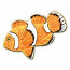 Clown Fish Pin