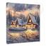 Christmas Lodge Canvas Wrap