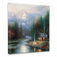 End of a Perfect Day II Canvas Wrap