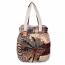 Palm Plaid Shoulder Bag