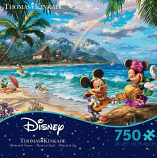 Mickie & Minnie in Hawaii Puzzle