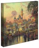 Disneyland 50th Anniversary Canvas Wrap